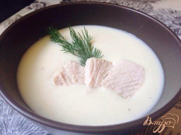 фото рецепта: Суп-пюре из цветной капусты с индейкой