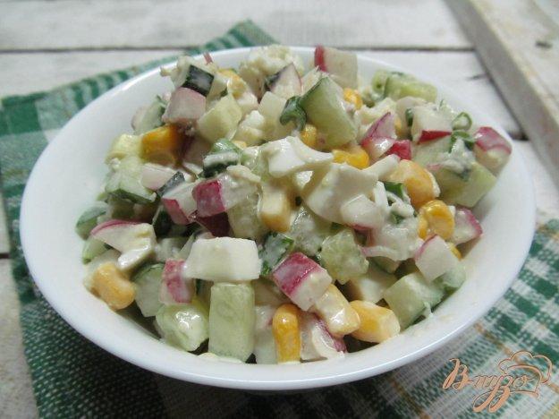 Рецепт свежего салата с пошагово