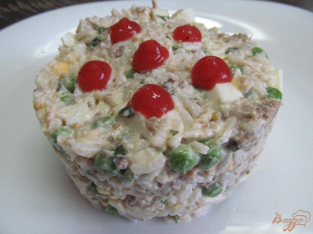 Слоеные салаты с языком рецепты с