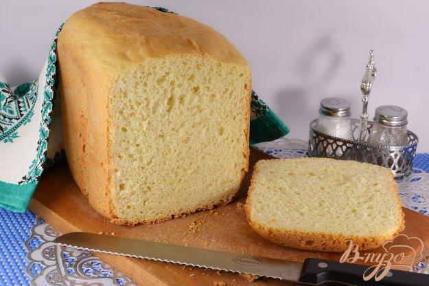 фото рецепта: Хлеб на сметане в хлебопечке