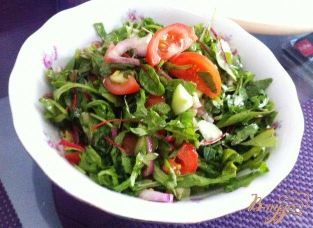 фото рецепта: Салат овощной, освежающий
