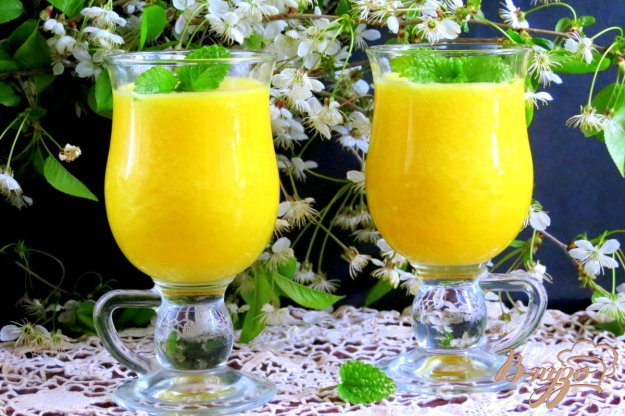 фото рецепта: Апельсиновый фреш