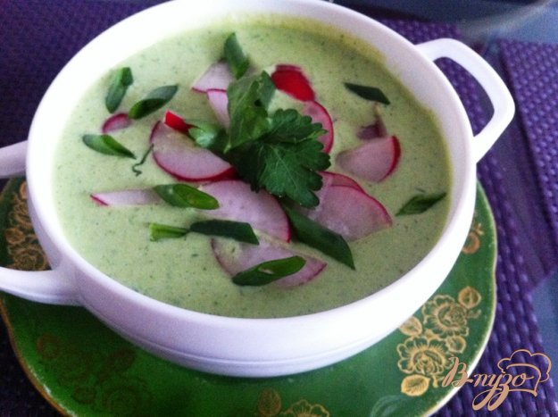 Холодный суп с фото пошагово