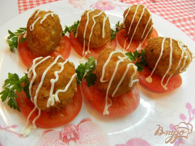 фото рецепта: Рыбные шарики с сыром