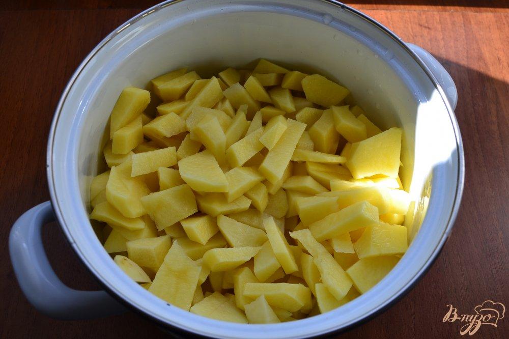 Рецепт тушеный картофель фото