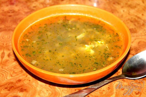 фото рецепта: Грибной суп с яйцом