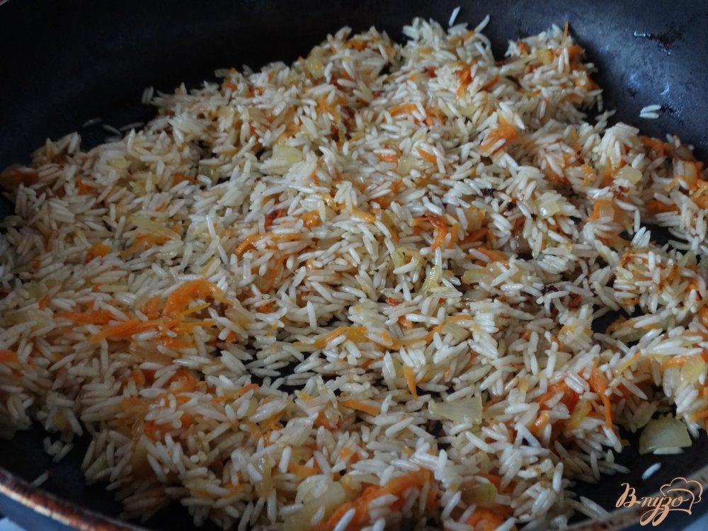 Блюда с рис басмати