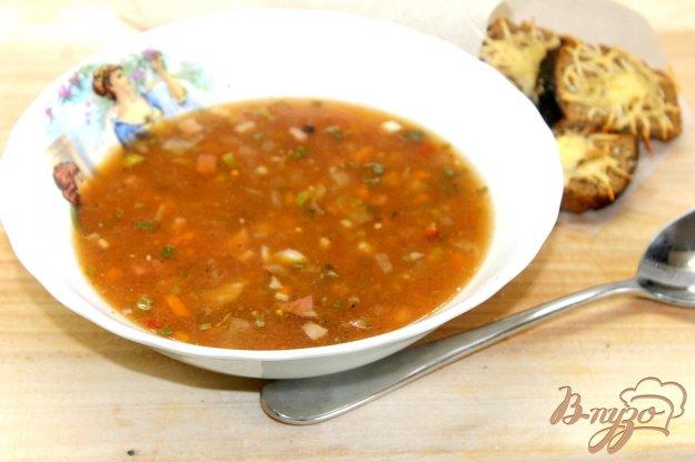 фото рецепта: Солянка с каперсами и телятиной