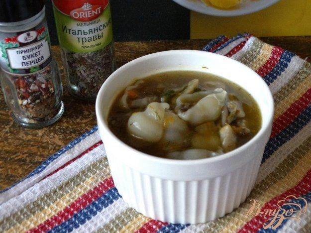 фото рецепта: Суп грибной с вешенками
