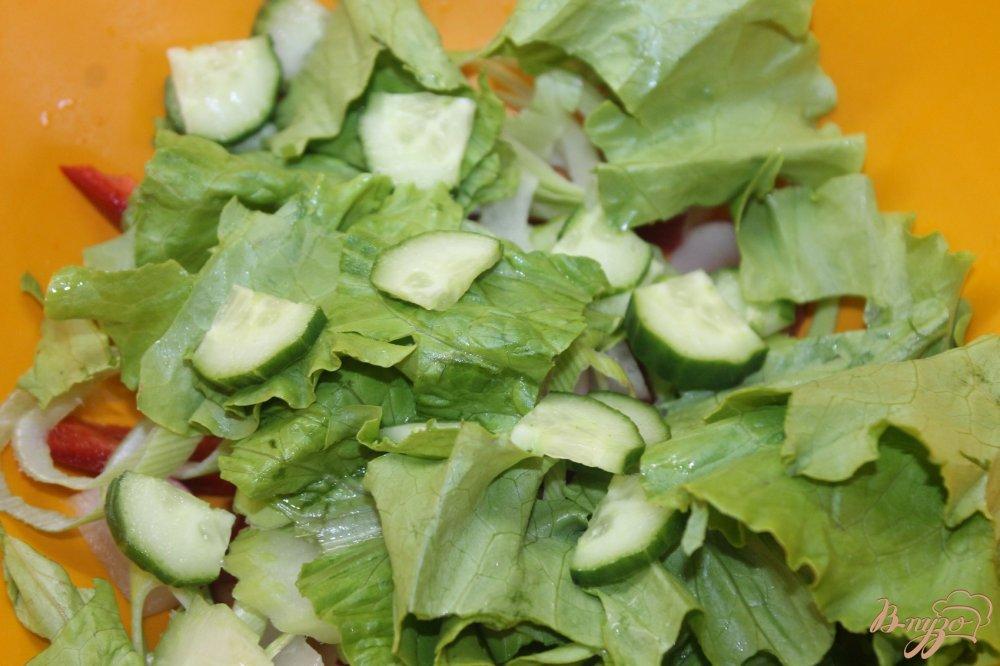 простые рецепты салатов с соевым соусом