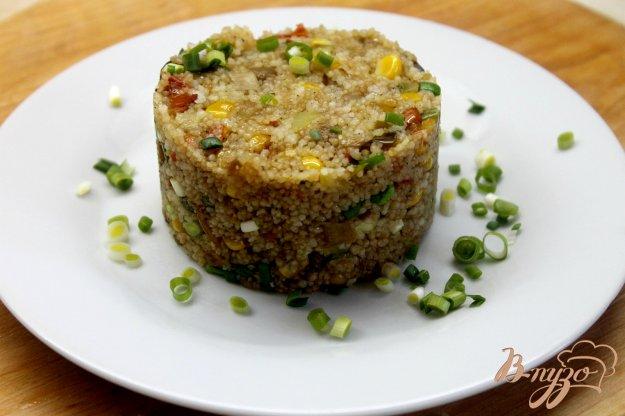 фото рецепта: Кус - кус с мексиканской смесью овощей