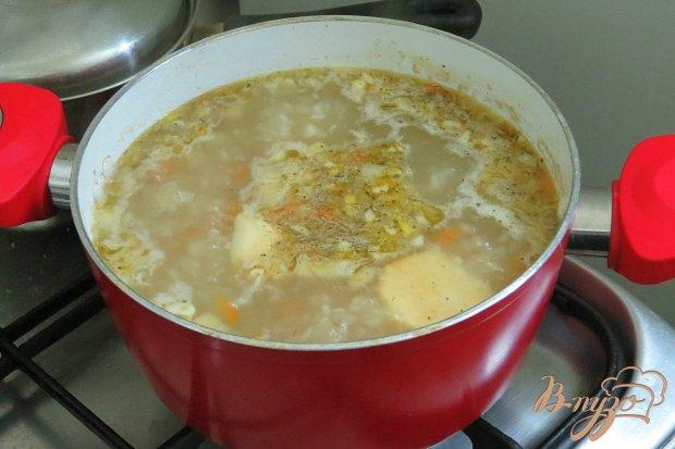 Суп рисовый на бульоне
