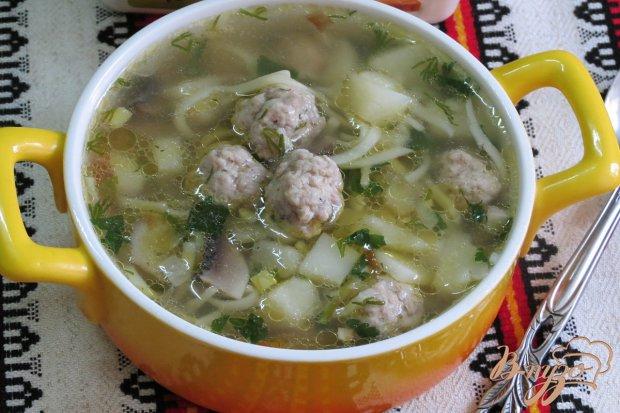 Суп лапша шампиньонами рецепт фото