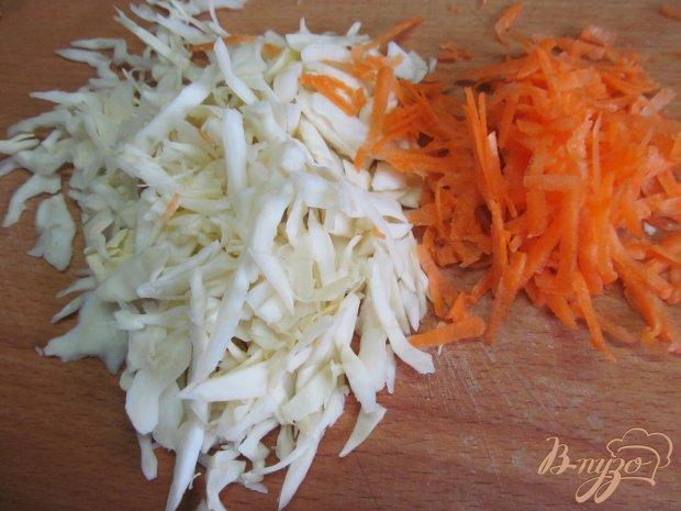 Салат с капустой и майонезом
