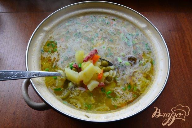 суп с фаршем и вермишелью с фото