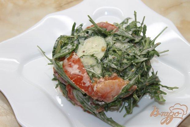 Салат с жаренной семгой рецепт с фото