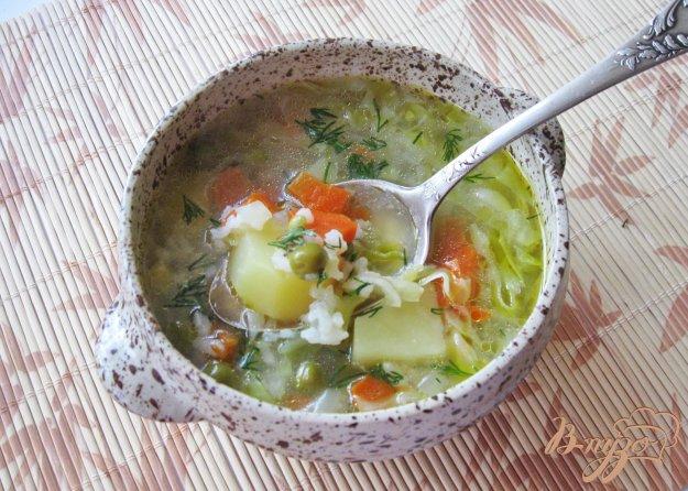 фото рецепта: Овощной суп с молодой капустой