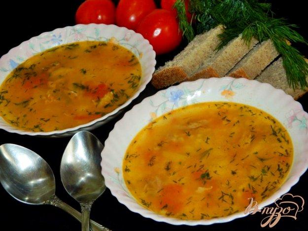 фото рецепта: Суп с булгуром и помидорами