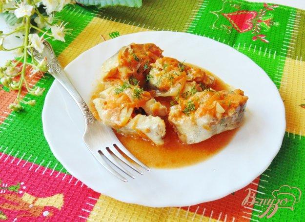 фото рецепта: Рыба в томатно-сливочном соусе