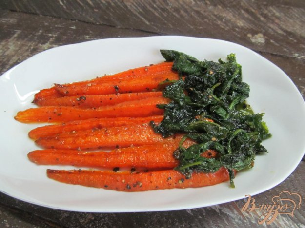 фото рецепта: Морковь глазированная в сахаре