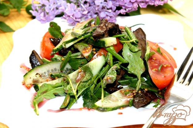 Рецепты салатов с легкой заправкой