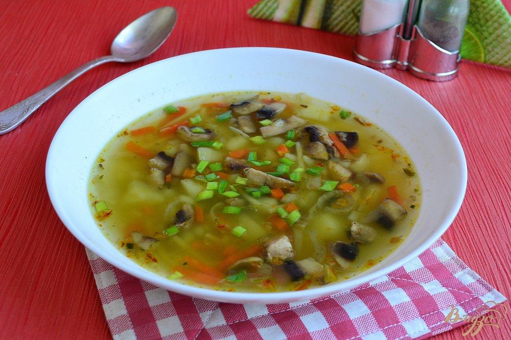 картофельный суп с шампиньонами рецепт с фото