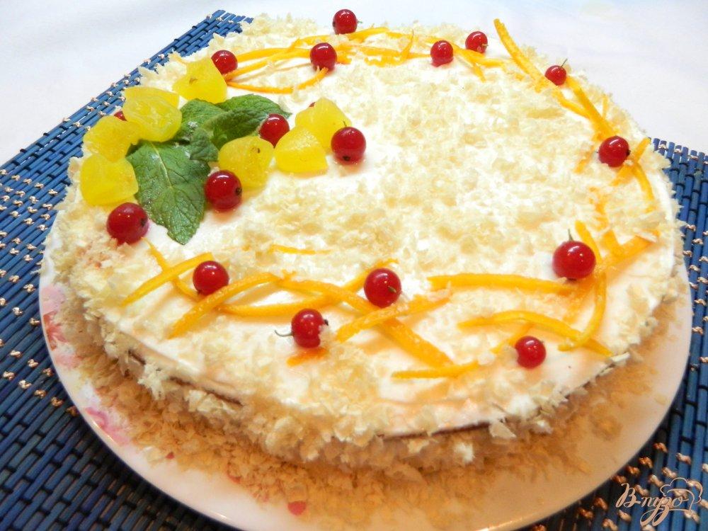Простой рецепт бисквита для торта