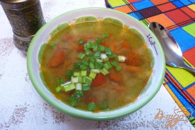 фото рецепта: Картофельный суп с куриной печенью