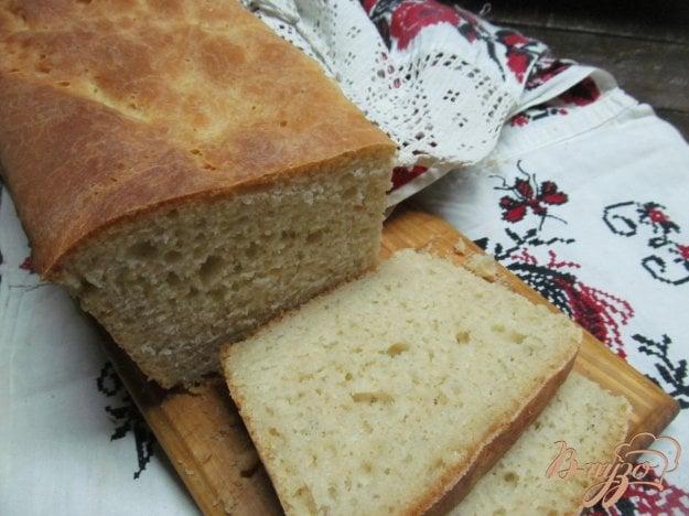 фото рецепта: Чесночный белый хлеб