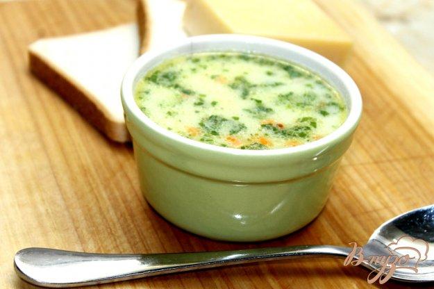 фото рецепта: Сливочный суп со свининой