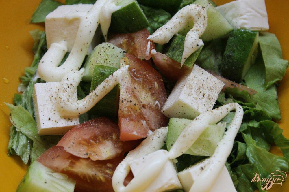 рецепты салата с колбасой и плавленным сыром