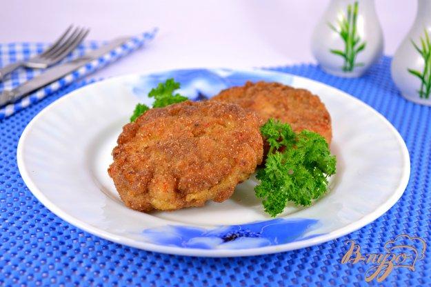 фото рецепта: Битки из рубленой свинины со сладким перцем