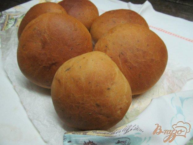фото рецепта: Булочки с сырной начинкой