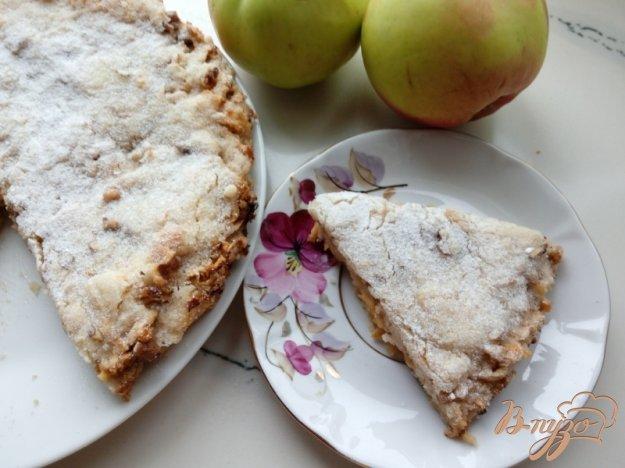 фото рецепта: Насыпной яблочный пирог