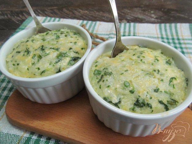 фото рецепта: Рисовая запеканка со шпинатом