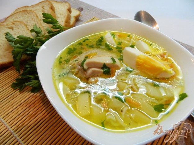 фото рецепта: Суп с курицей и вермишелью