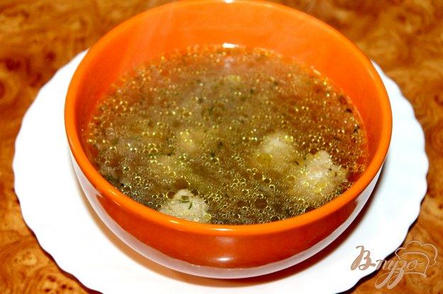 фото рецепта: Суп с фрикадельками, перцем и грибами