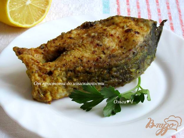 фото рецепта: Жареный сазан