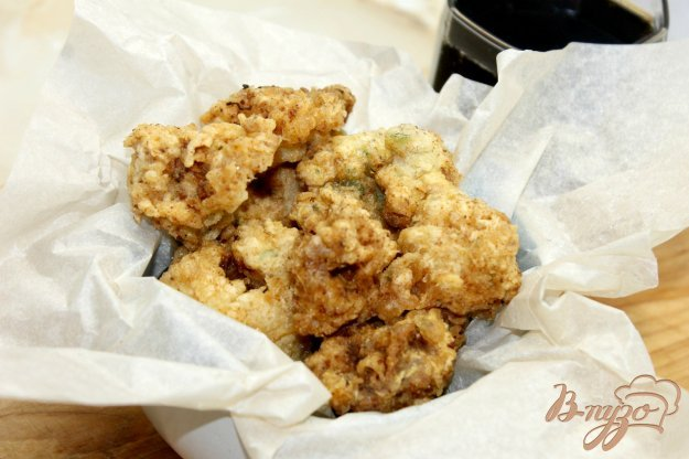 фото рецепта: Жаренная цветная капуста во фритюре