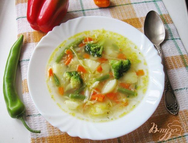 фото рецепта: Овощной суп с брокколи