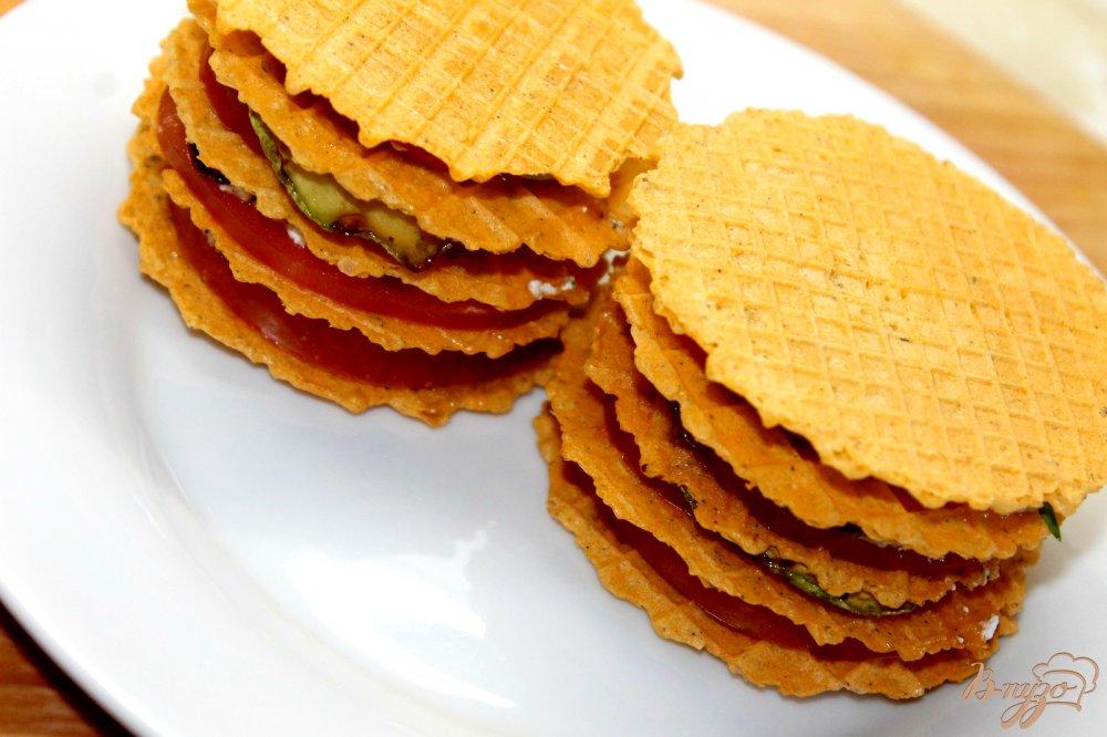 вафельные коржи с начинкой рецепты с фото закуски из