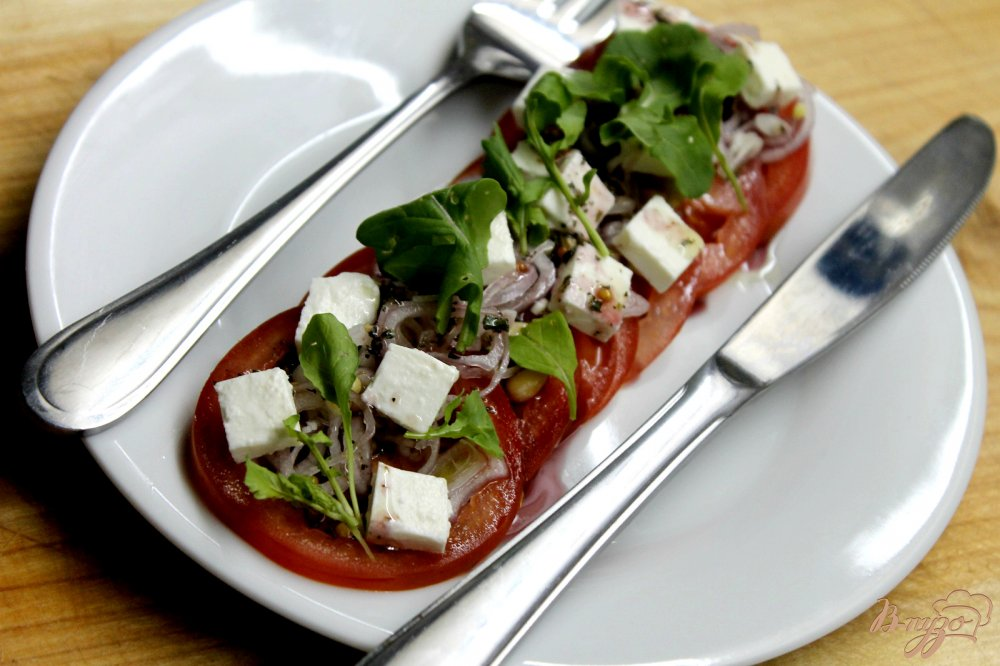 салат с каперсами рецепты с фото #7