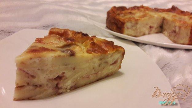 фото рецепта: Блинный пирог с нежным суфле