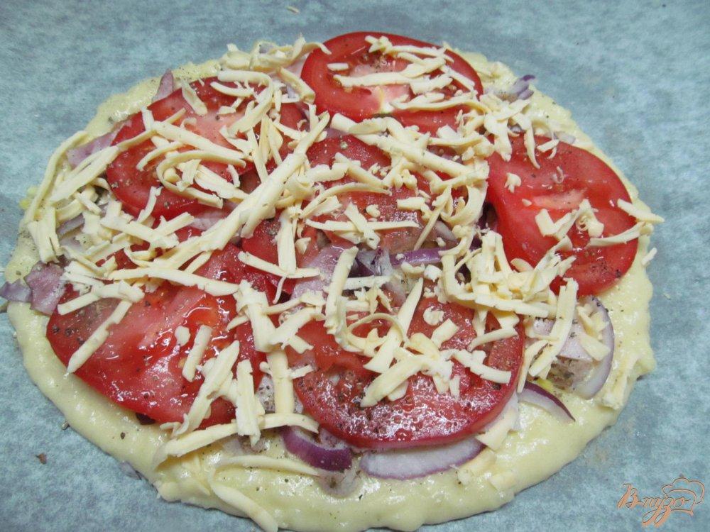 Картофельная пицца рецепт фото