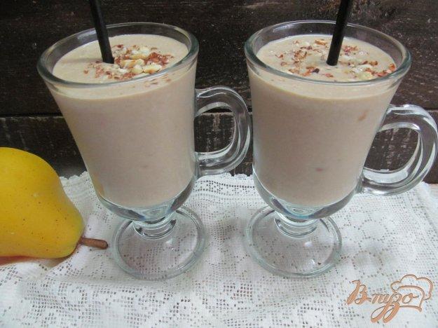 фото рецепта: Кофейно-грушевый смузи с тофу