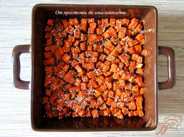фото рецепта: Тыква с рыбным соусом и кориандром