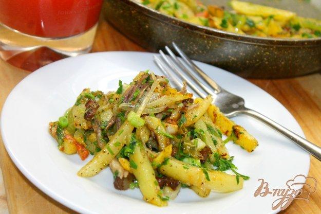 фото рецепта: Картофель по - сельски на сале