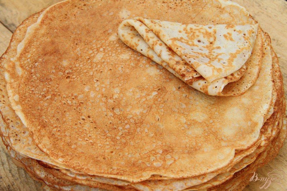 Блины на молоке рецепт тонкие с фото пошагово с дырочками