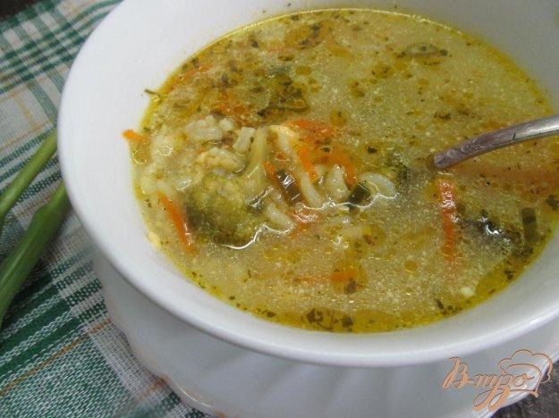фото рецепта: Сливочный сыр с брокколи и рисом