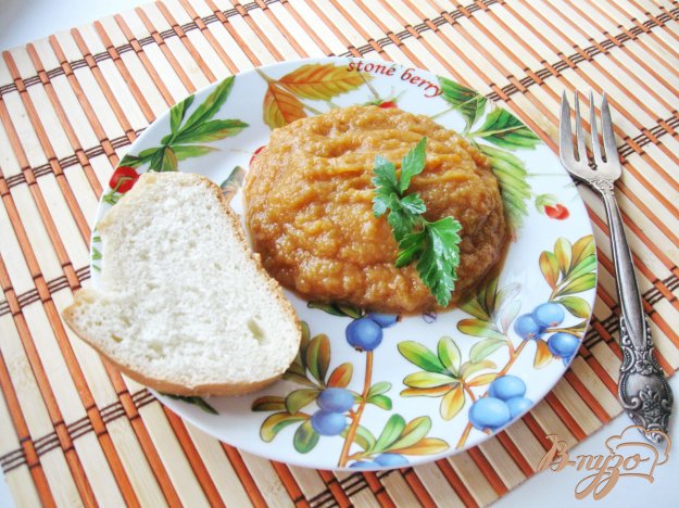 фото рецепта: Овощная икра в рукаве
